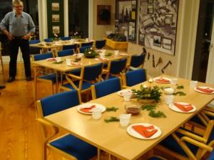 Juleafslutning i Træskibslaugets hus d. 4. dec. 2014