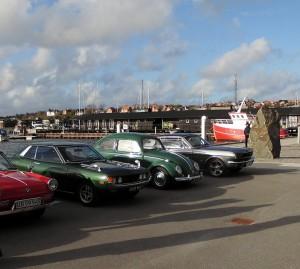 Den 7. Maj dækspark på havnen.