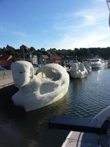 Dækspark på Lemvig Havn 28. juli